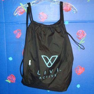 Handbags - Livi Active Sport Duffle Bag Backpack Black